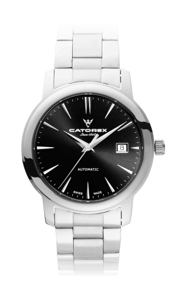 C'Attractive 40 Automatic Black Index Steel