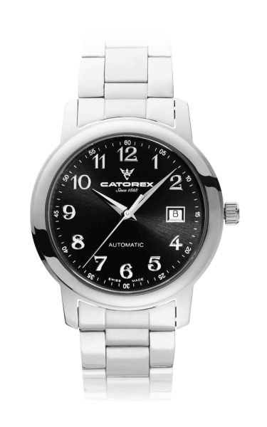 C'Attractive 40 Automatic Black Nrs Steel