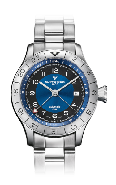 GMT Voyager 42 Blue Steel