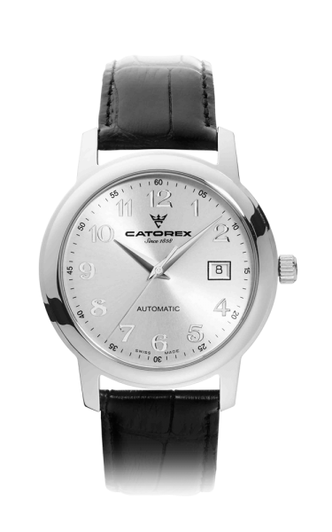 C'Attractive 40 Automatic Silver Nrs Leather