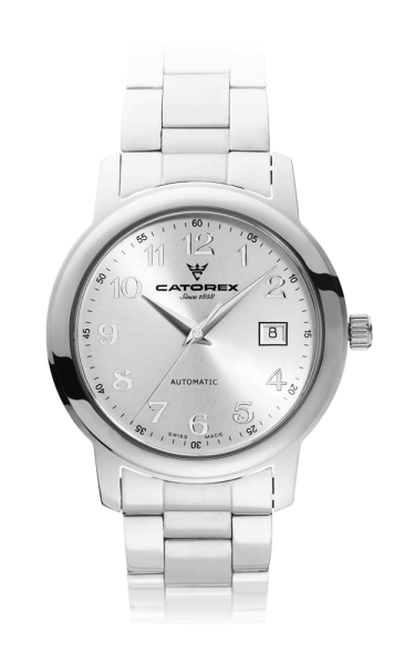 C'Attractive 40 Automatic Silver Nrs Steel