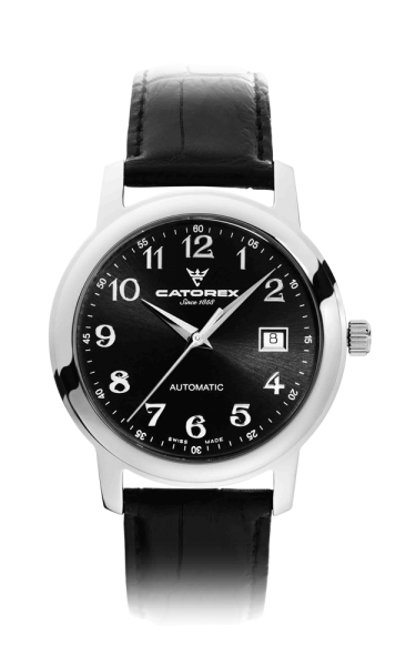 C'Attractive 40 Automatic Black Nrs Leather
